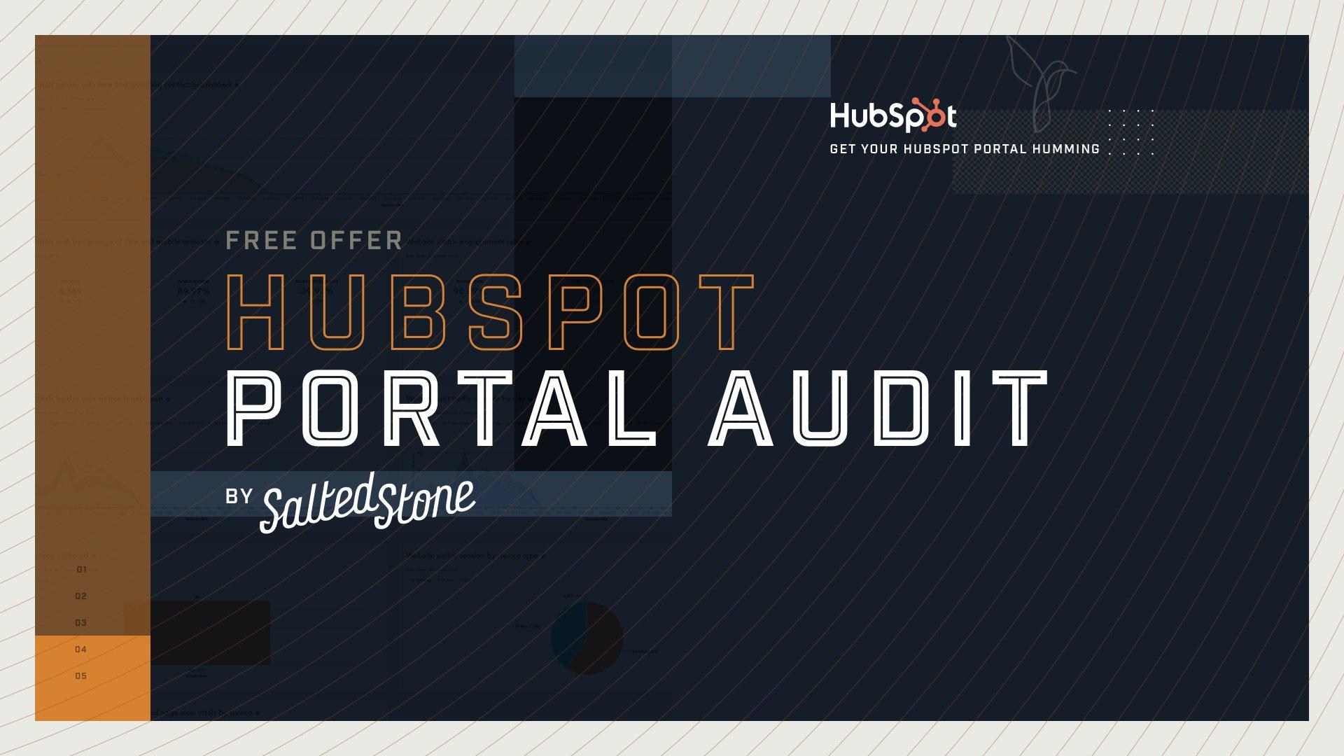 Free Offer HubSpot Portal Audit