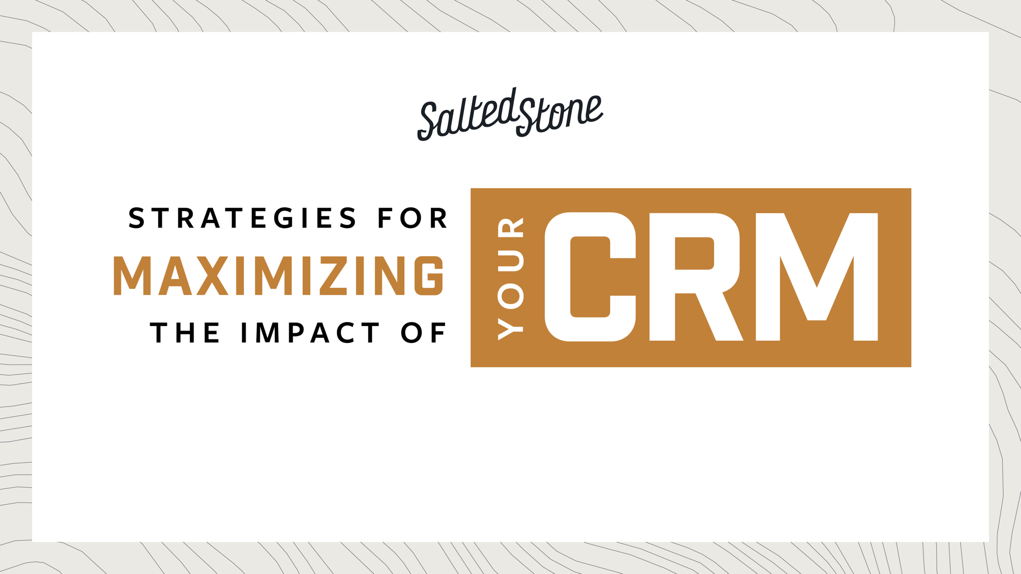 Strategies for Maximising the Impact of Your CRM (1)